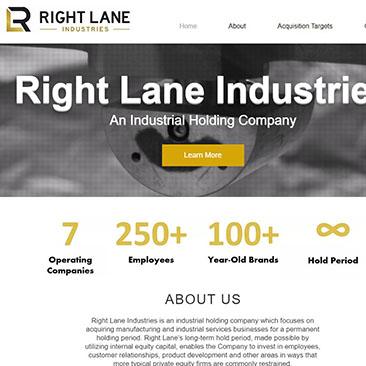 Right Lane Industries Portfolio