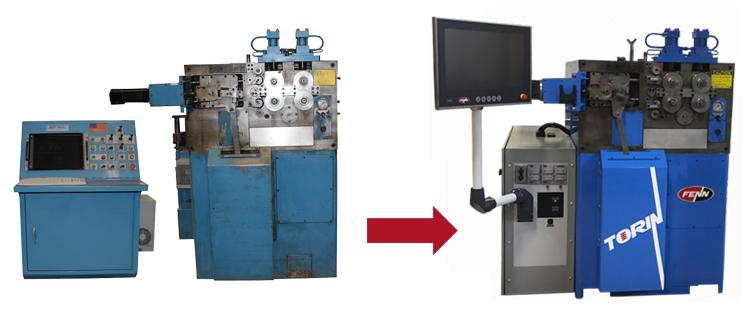 Torin FZ 115 CNC Spring Coiler Control Upgrade
