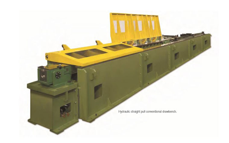 Hydraulic Straight Pull Conventional Drawbench